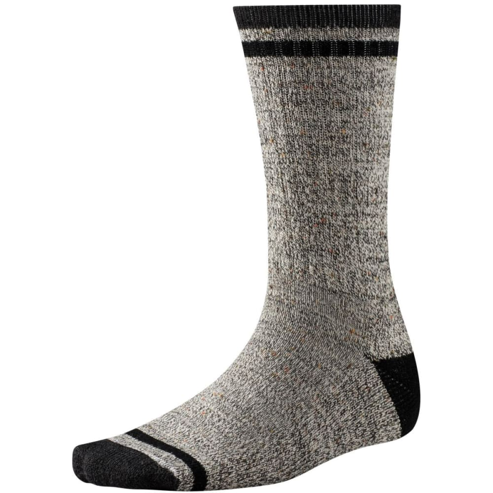 SMARTWOOL Men's Larimer Crew Socks - CHARCOAL 010