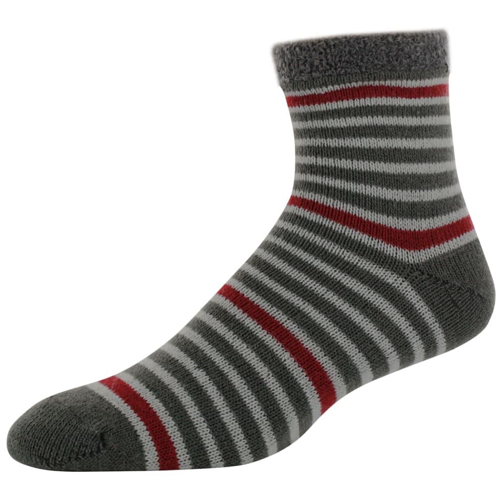 SOFSOLE Men's Fireside Stripe Cabin Socks - RED TWIST 81328