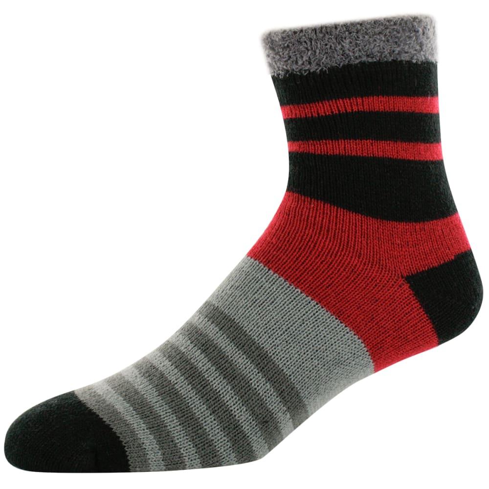 SOFSOLE Men's Chunky Fireside Cabin Socks - RED TWIST 81332