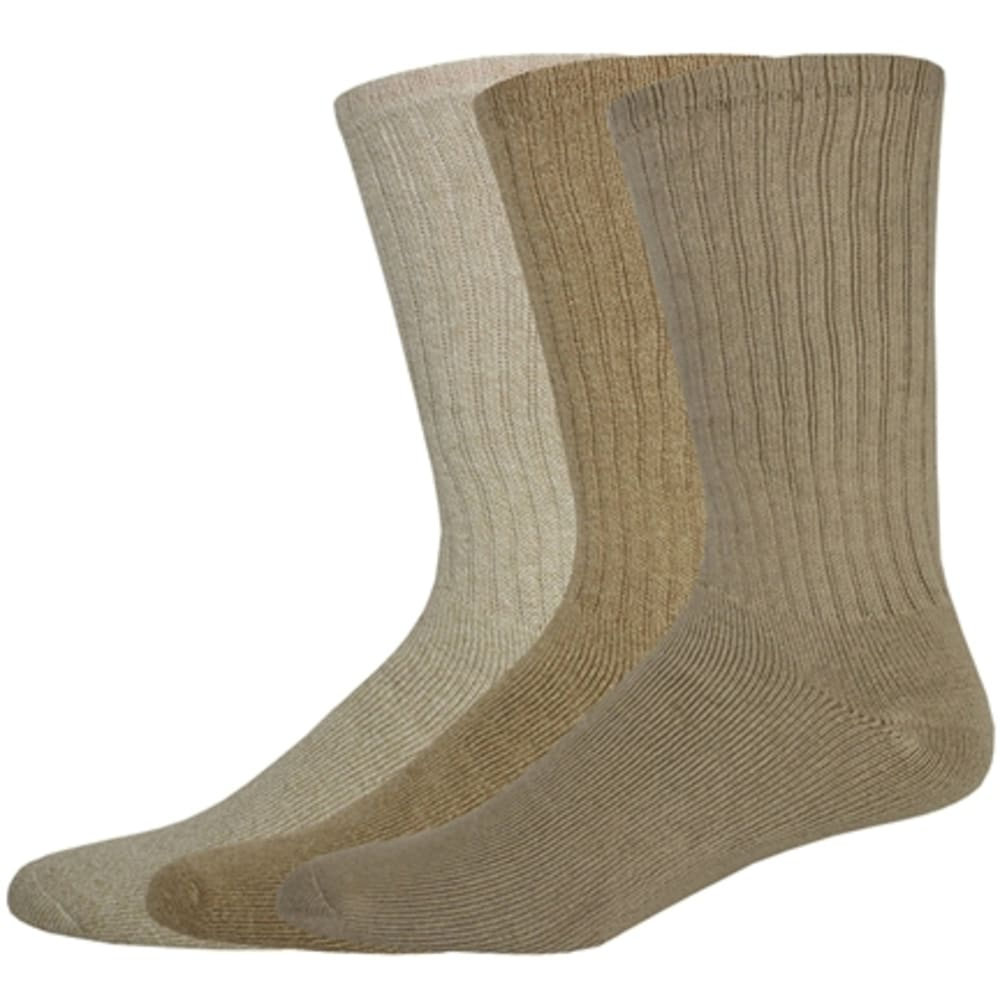 DOCKERS Men's Sport Crew Socks, 3-Pack - 991/254LTKH