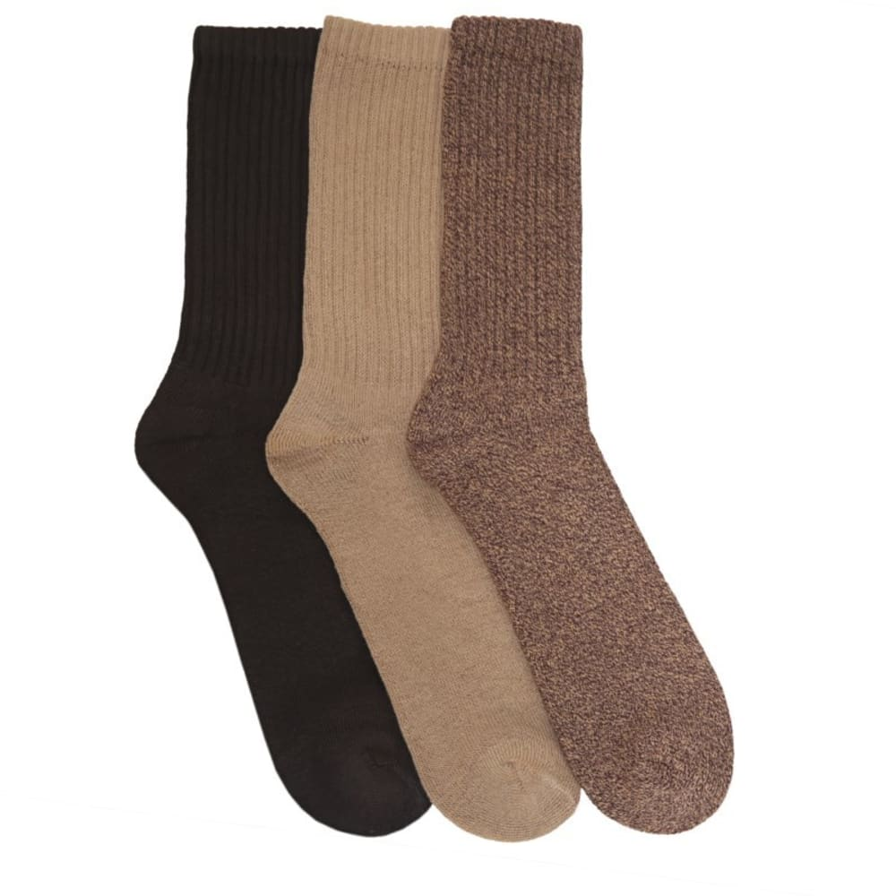 DOCKERS Men's Sport Crew Socks, 3-Pack - 097/903DKAS