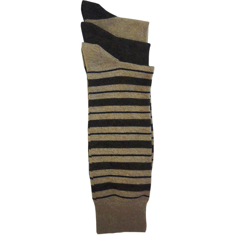 DOCKERS Men's Metro Sport Stripe Socks, 3-Pack - KHAKI