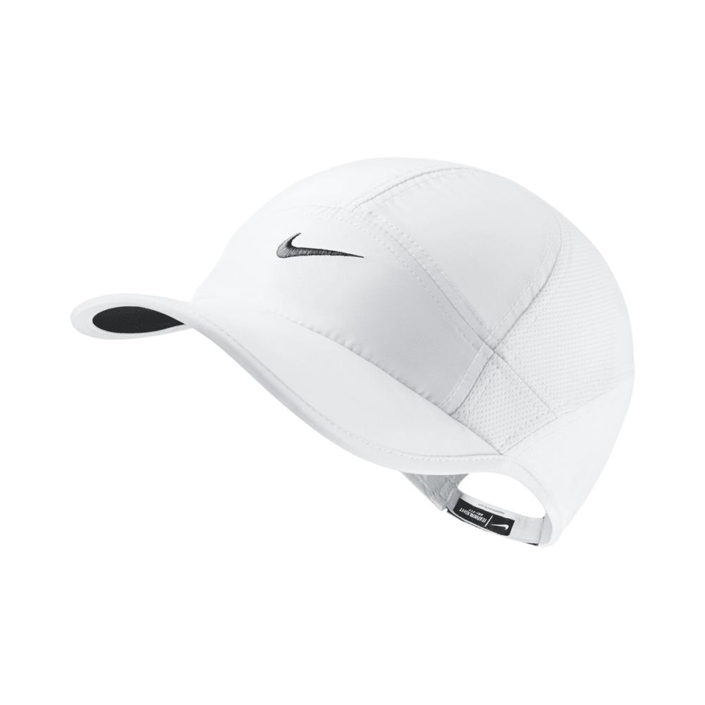 NIKE Women's NikeCourt AeroBill Featherlight Tennis Cap - 100 WHITE