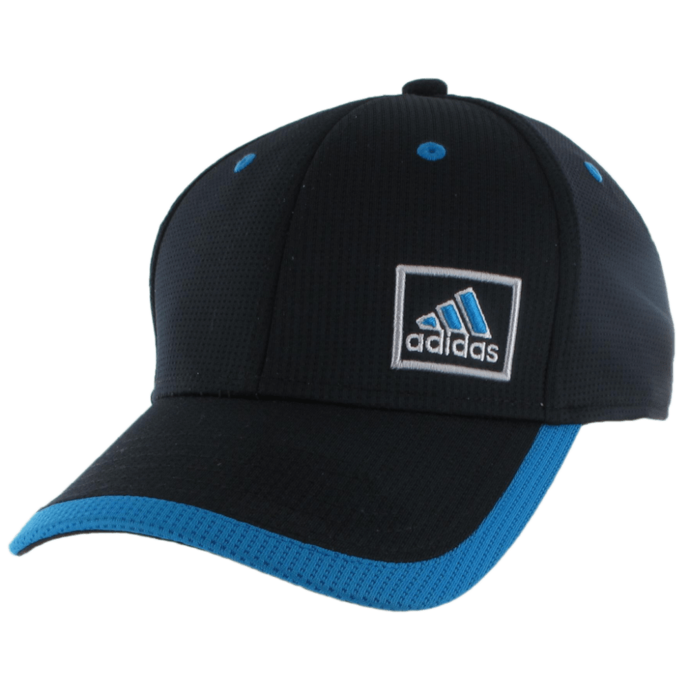 ADIDAS Men's Lock Stretch Fit Cap - BLACK