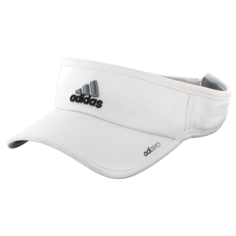 ADIDAS Men's AdiZero II Visor - WHITE/BLACK/GREY
