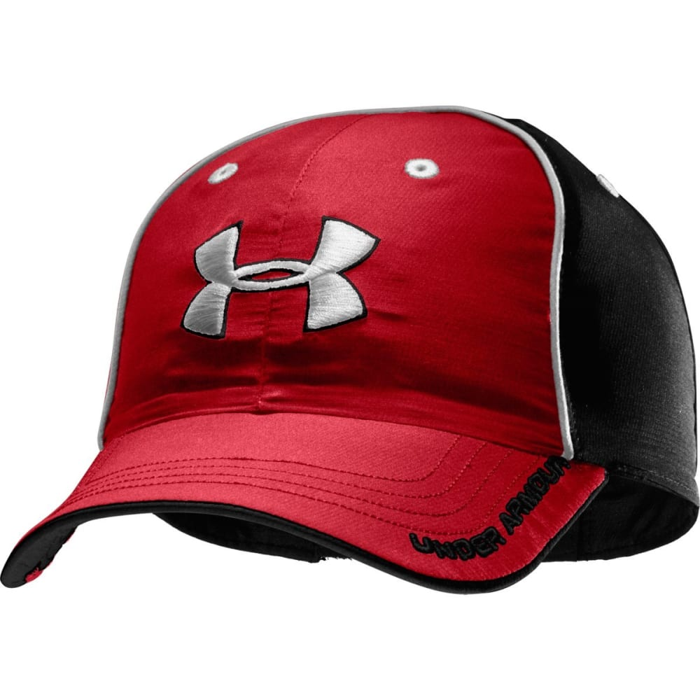 UNDER ARMOUR Men's Home and Away Reversible Cap - BRIGHT CRIMSON