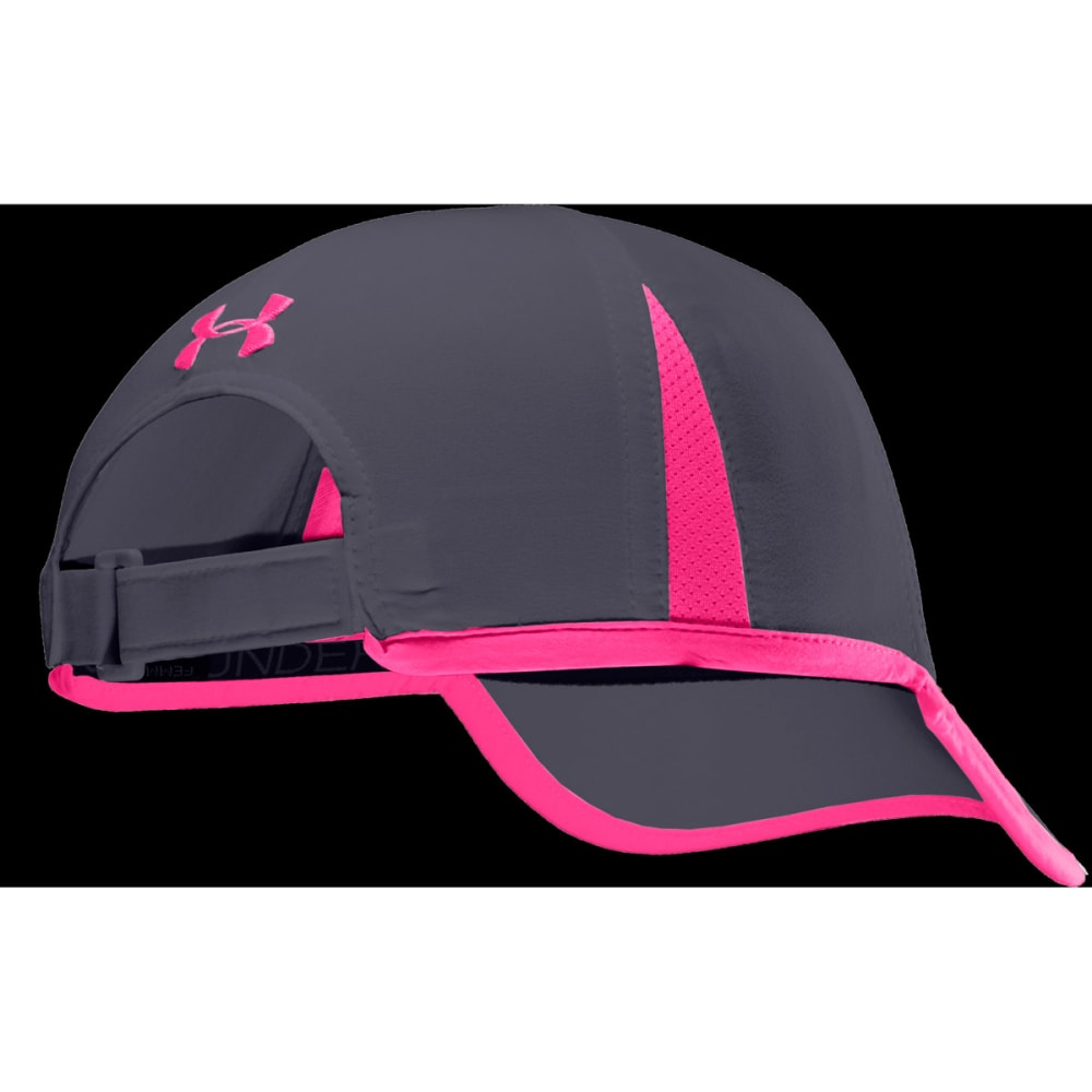 UNDER ARMOUR Women's PIP Shadow Visor - GREY/PINK