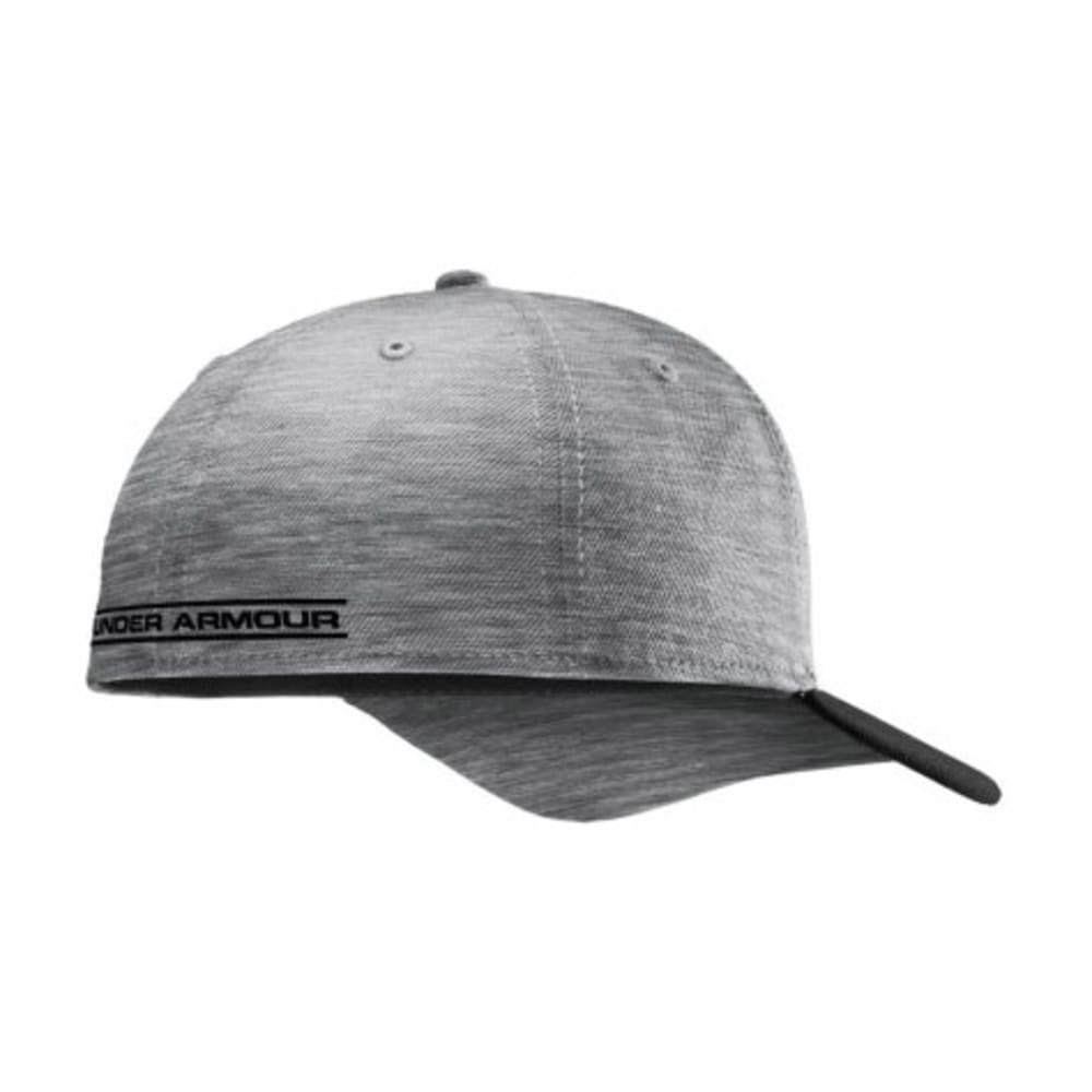 UNDER ARMOUR Men's Closer Low Crown Stretch Fit Cap - GRAY