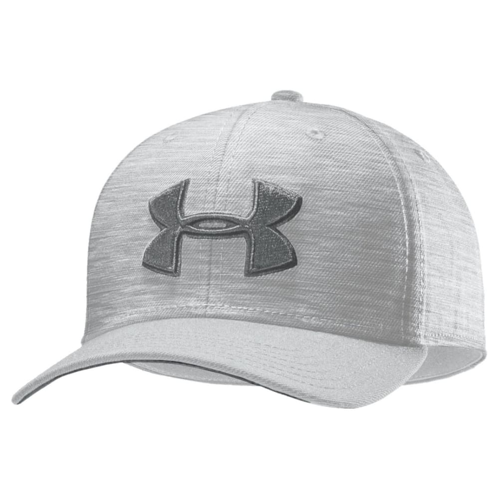 UNDER ARMOUR Men's UA Closer Low Crown Stretch Fit Cap - WHITE