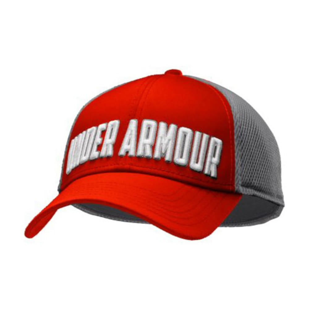 UNDER ARMOUR Men's UA Stand Out Stretch Fit Cap - RED