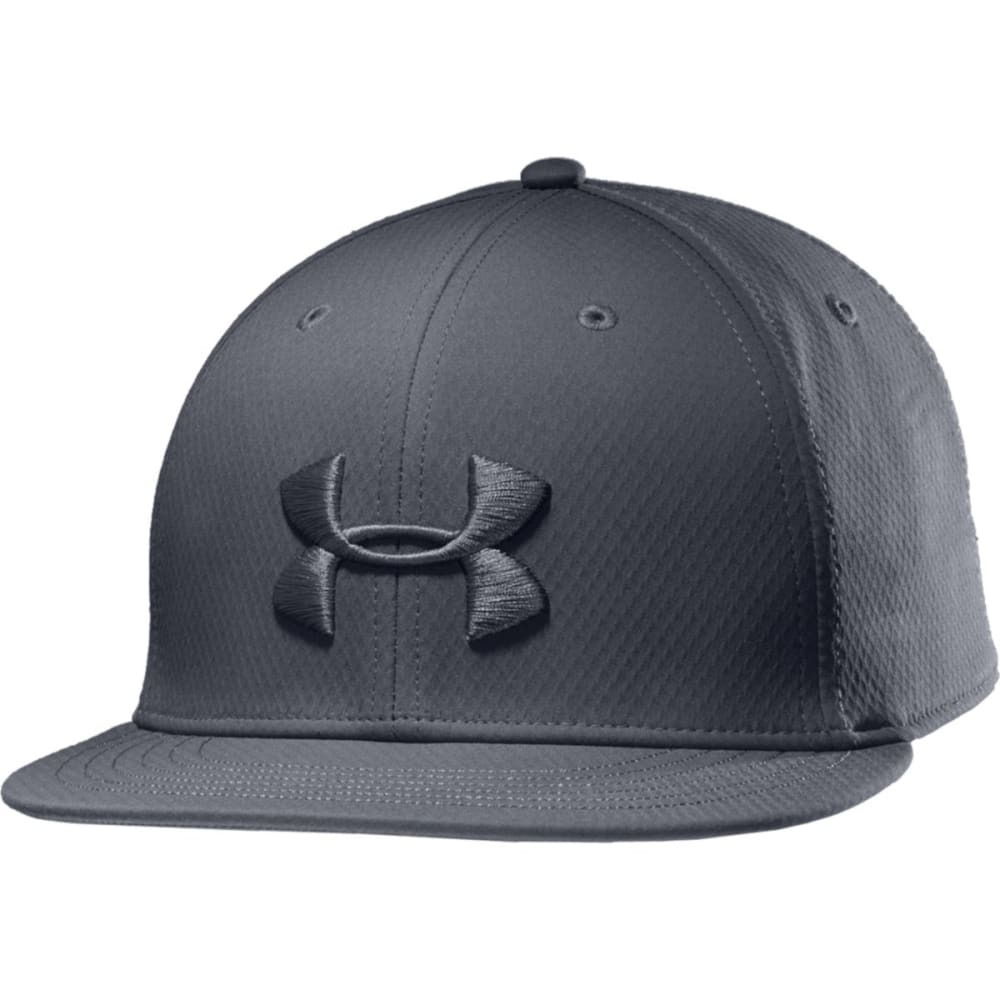 UNDER ARMOUR Men's Elevated Flat Brim Cap - GRAPHITE
