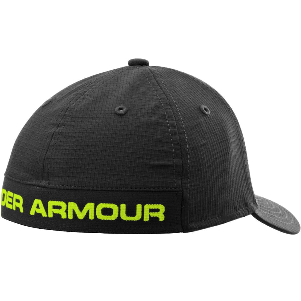 UNDER ARMOUR Boys' Headline Stretch Fit Cap - BLACK