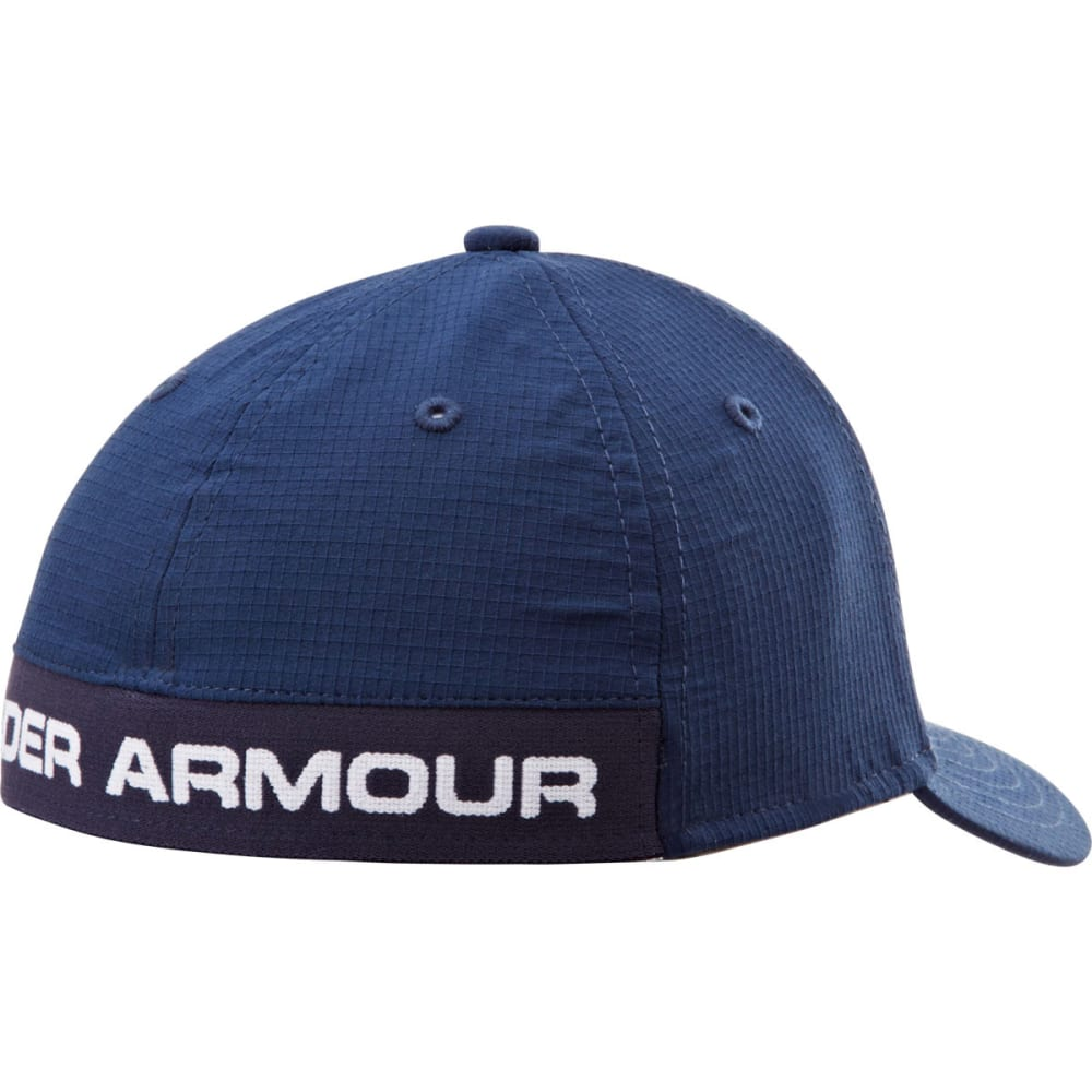 UNDER ARMOUR Boys' Headline Stretch Fit Cap - NAVY 410