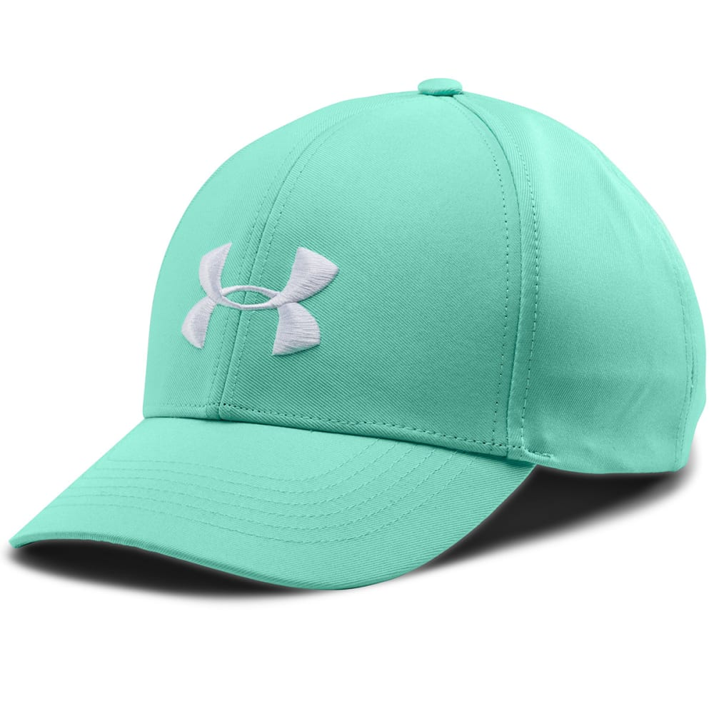 UNDER ARMOUR Women's Big Logo Adjustable Cap - CRYSTAL WHITE