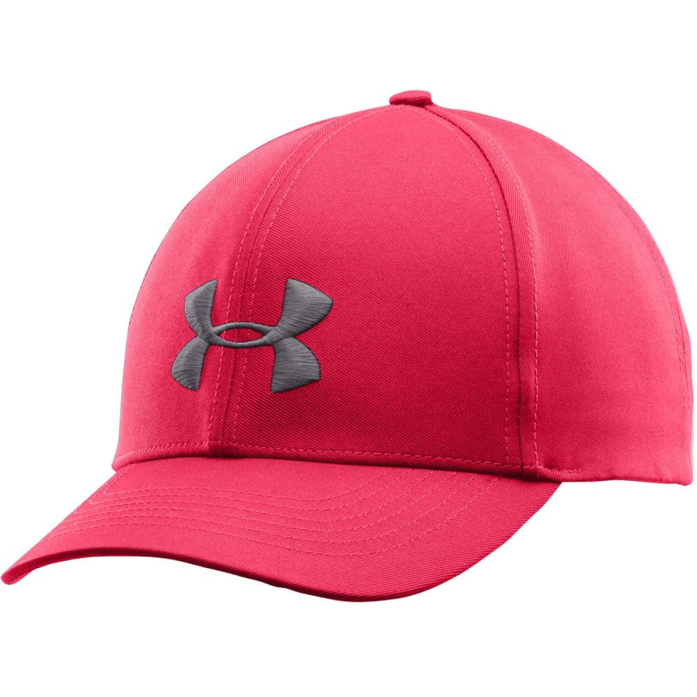 UNDER ARMOUR Women's Big Logo Adjustable Cap - PINK SHOCK