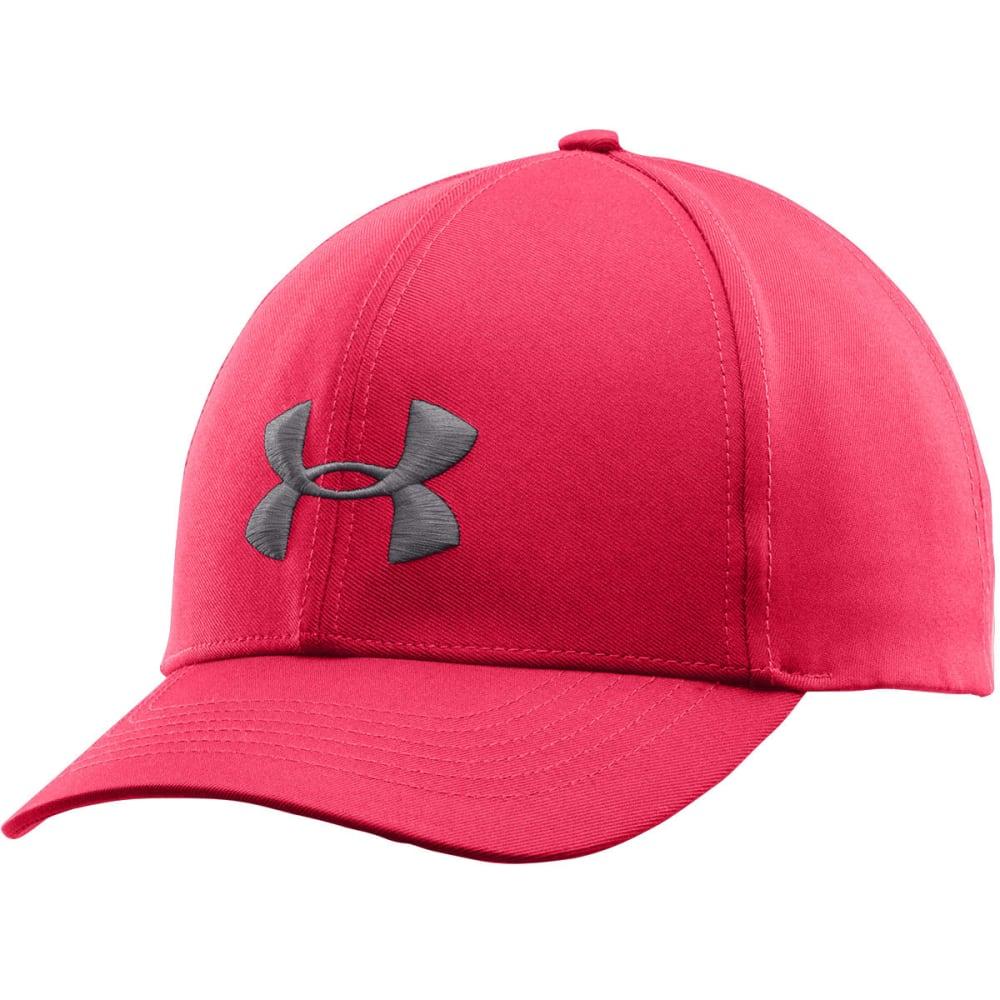 UNDER ARMOUR Women's Big Logo Adjustable Cap - PINK SHOCK