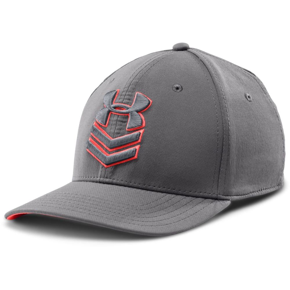 UNDER ARMOUR Men's Undeniable Stretch Fit Cap - GRAY