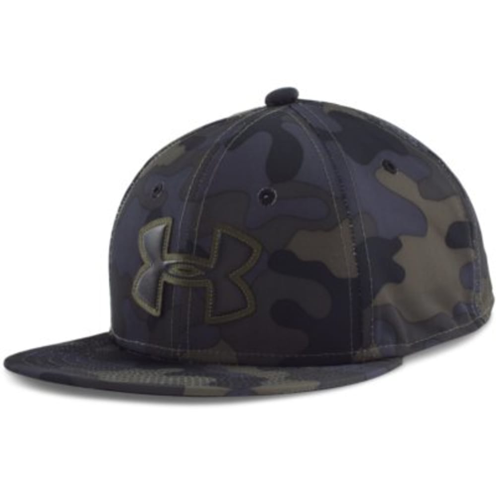 UNDER ARMOUR Boys' UA Huddle Snap Back Cap - ALGAE