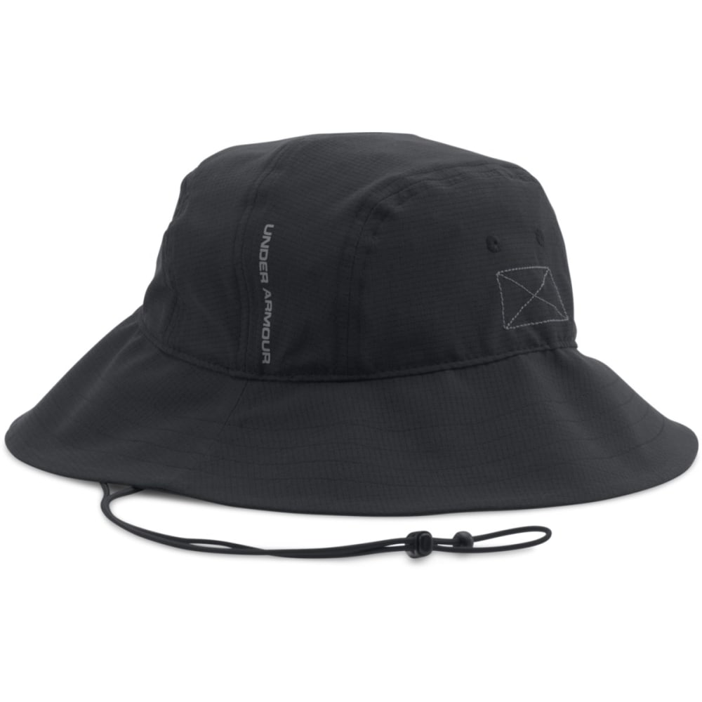 UNDER ARMOUR Men's ArmourVent™ Bucket Hat - BLACK-001
