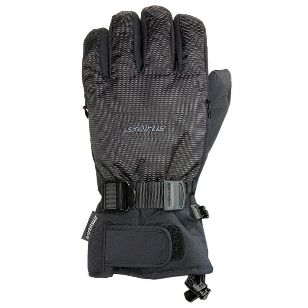 SEIRUS Men's Airstream Gloves - BLACK
