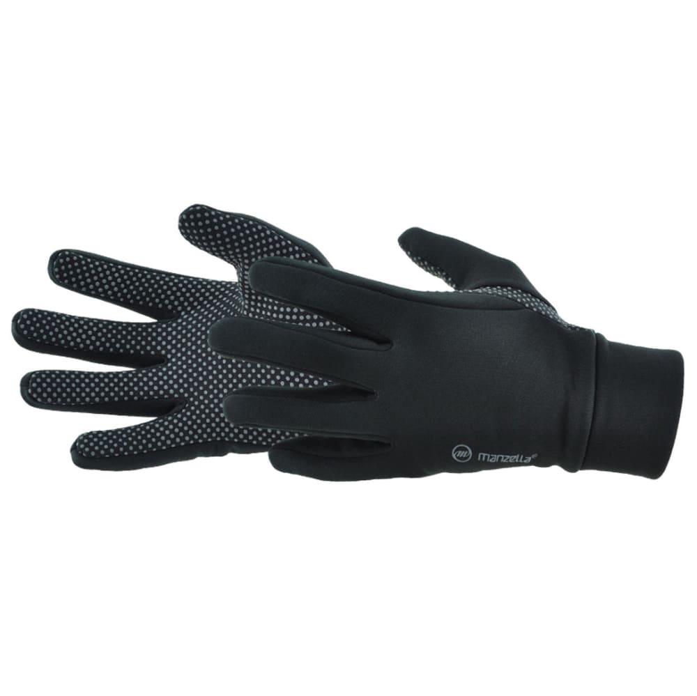 MANZELLA Men's Power Stretch Gloves - BLACK