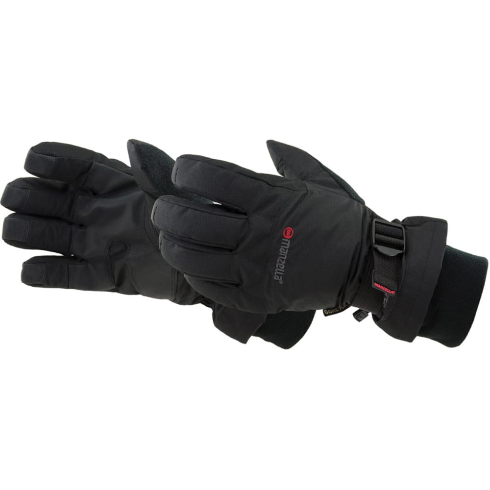 MANZELLA Men's GORE-TEX Stealth II Gloves - BLACK