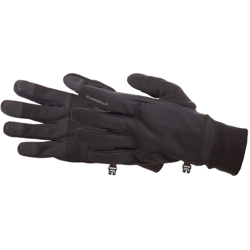 MANZELLA Men's All Elements 2.5 TouchTip Outdoor Gloves - BLACK