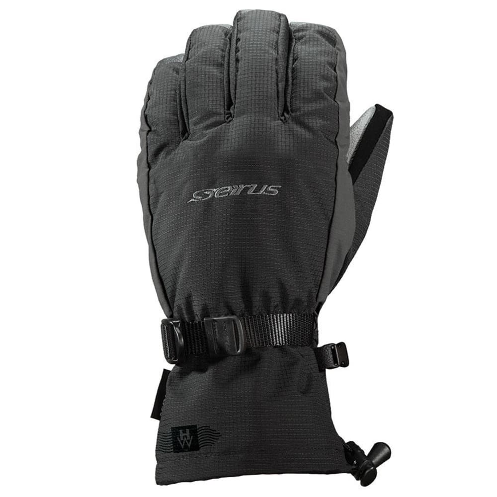 SEIRUS Men's Heatwave Accel Gloves - BLACK