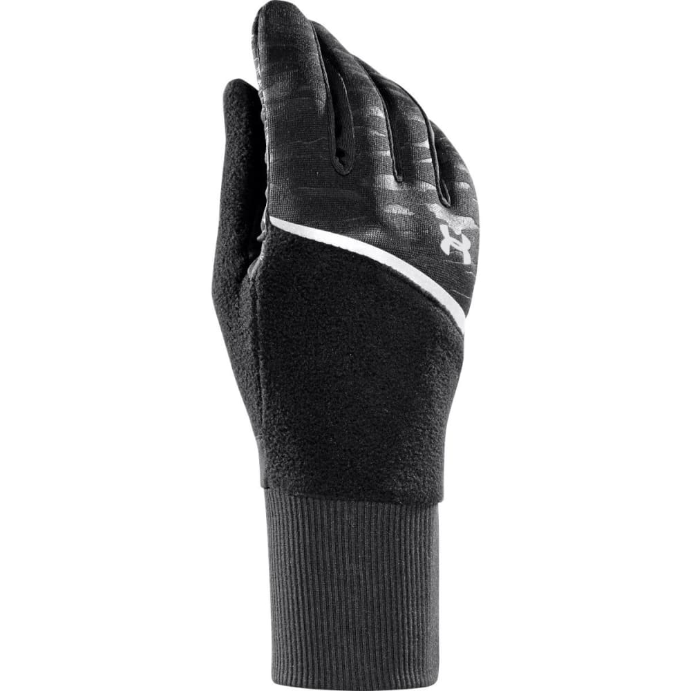 UNDER ARMOUR Women's UA See Me Go Running Gloves - BLACK