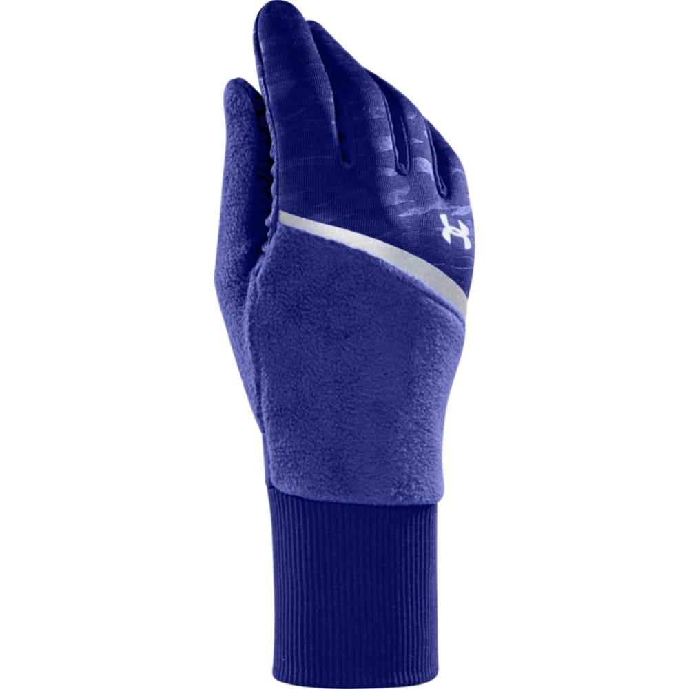 UNDER ARMOUR Women's UA See Me Go Running Gloves - SIBERIAN IRIS