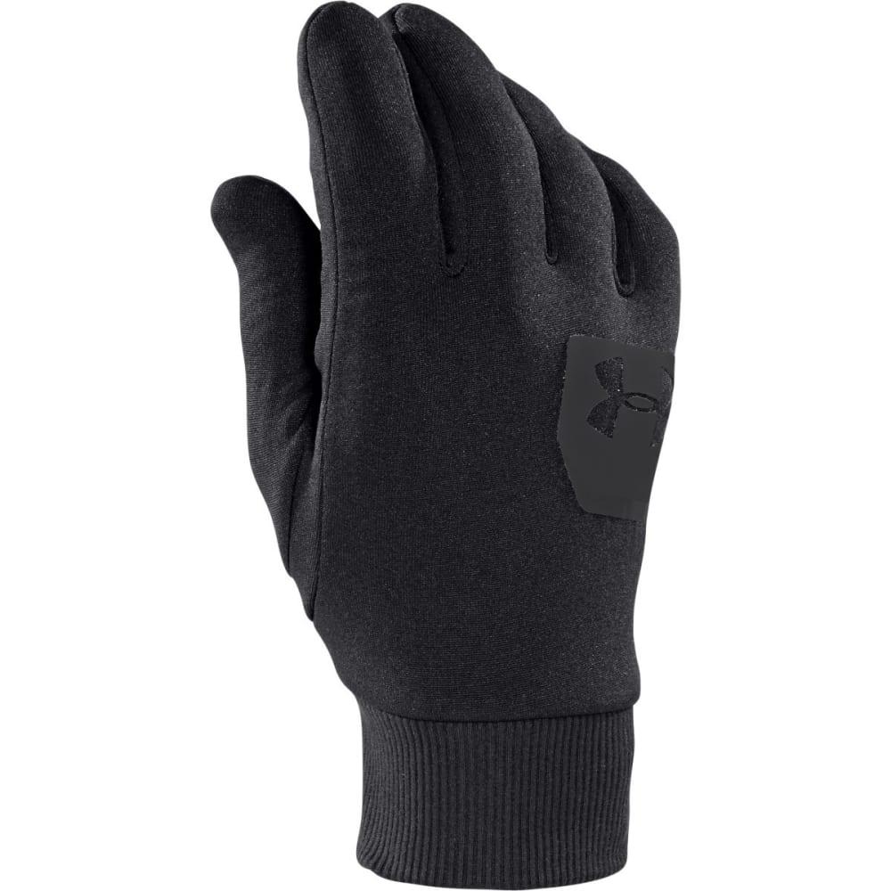 UNDER ARMOUR Men's UA ColdGear® Infrared Liner Gloves - BLACK/BLACK