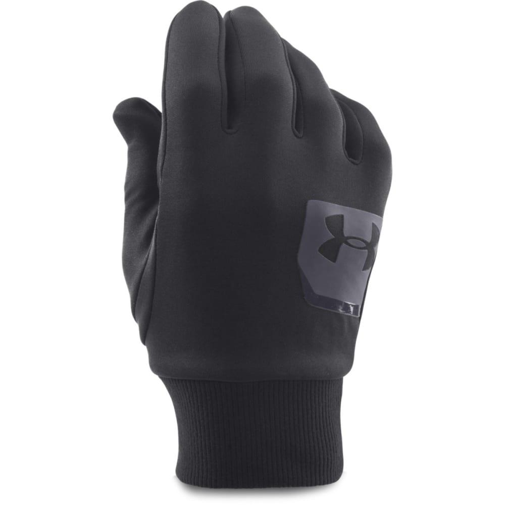 UNDER ARMOUR Men's UA ColdGear® Infrared Liner Gloves - BLACK/GREY