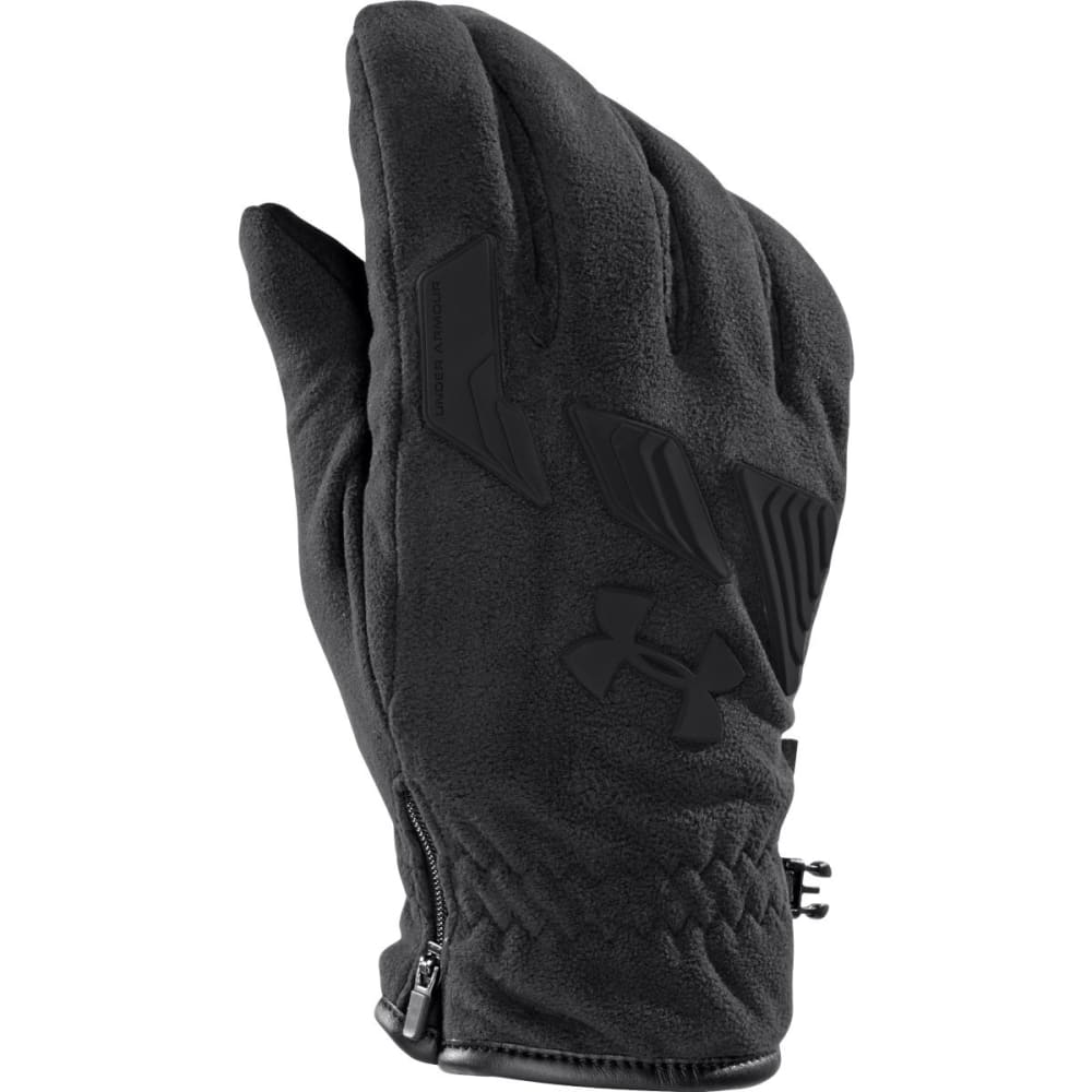 UNDER ARMOUR Men's UA ColdGear® Infrared Storm Convex Gloves - BLACK/BLACK
