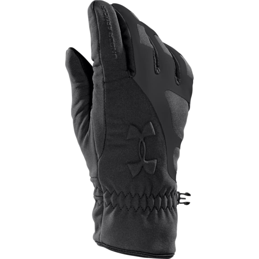 UNDER ARMOUR Men's UA ColdGear® Infrared Storm Stealth Gloves - BLACK/BLACK