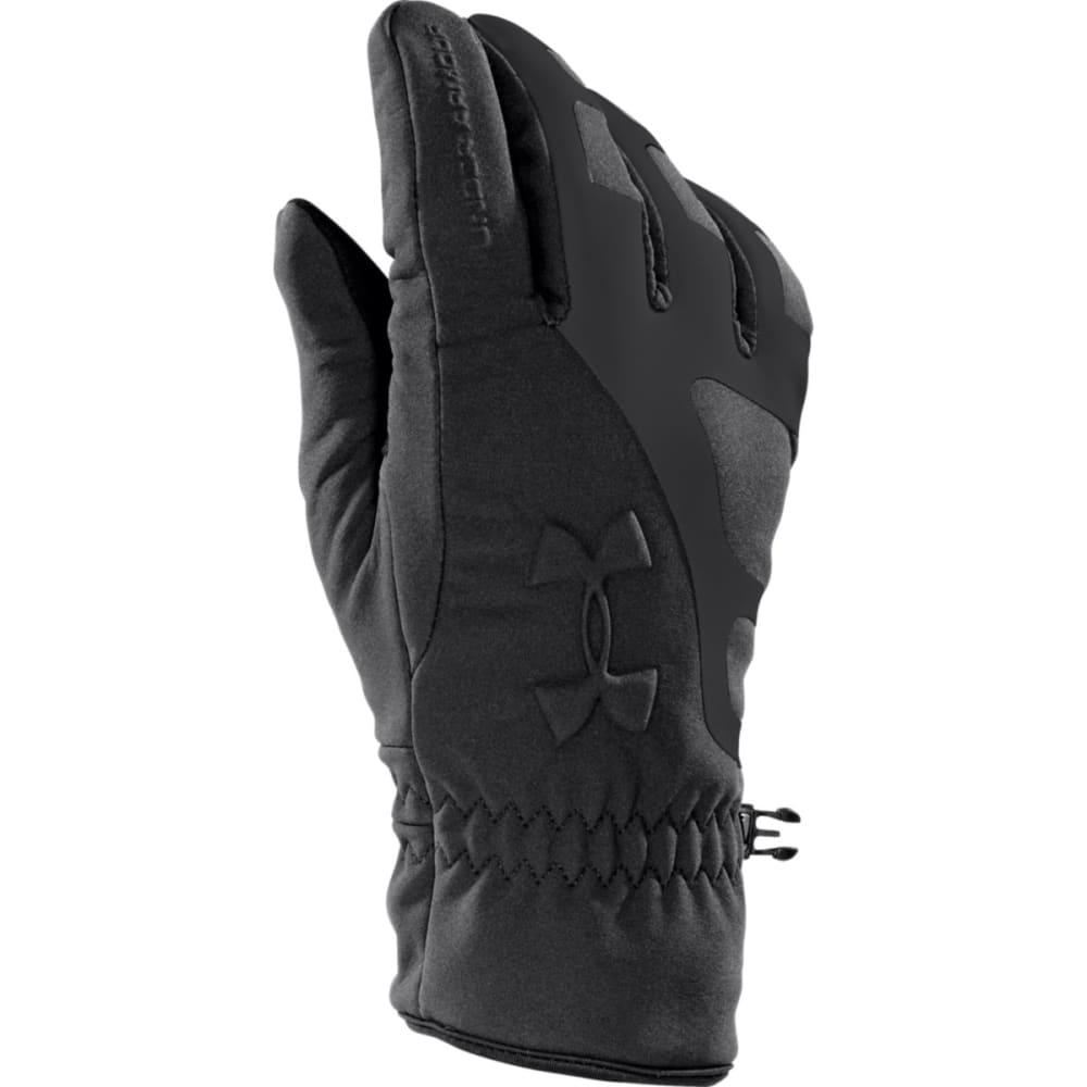 UNDER ARMOUR Men's UA ColdGear® Infrared Storm Stealth Gloves - BLACK/BLACK