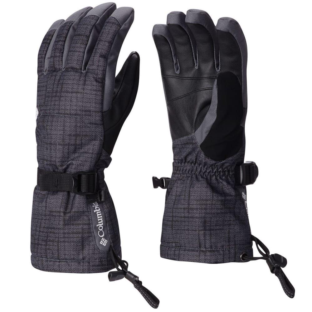 COLUMBIA Men's Whirlbird Ski Glove - 012-BLK TWEED PRINT