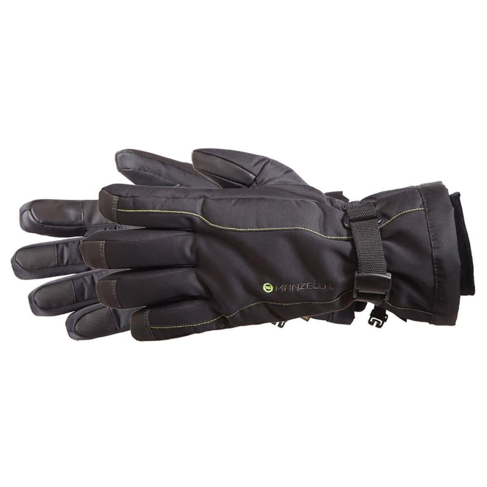 MANZELLA Men's Fahrenheit 5 TouchTip Outdoor Gloves - BLACK