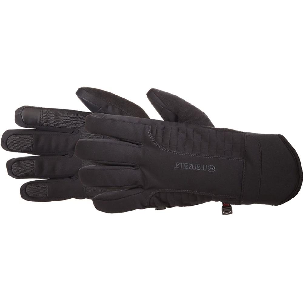 MANZELLA Men's Get Intense TouchTip Outdoor Gloves - BLACK