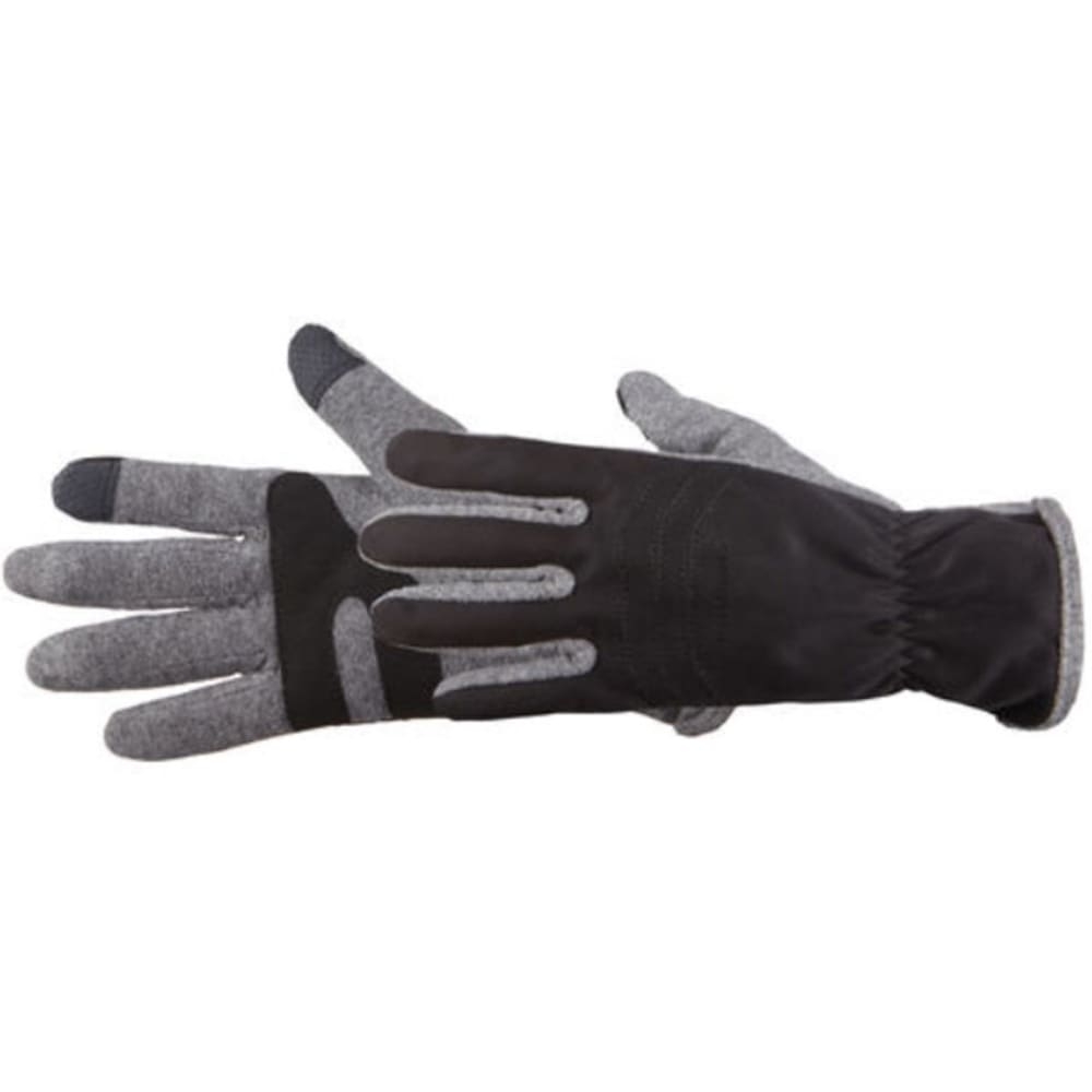 MANZELLA Men's Hybrid TouchTip Outdoor Gloves M/L