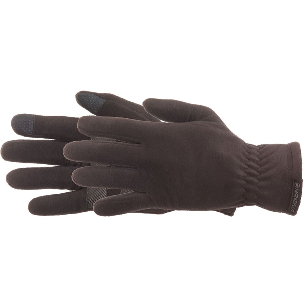 MANZELLA Men's Tahoe Touch Tip Gloves - BLACK