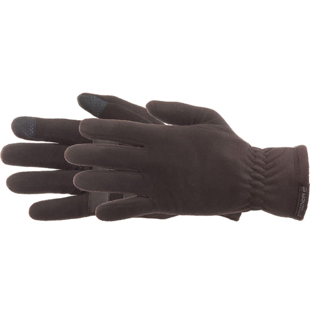 MANZELLA Men's Tahoe Touch Tip Gloves - BLACK