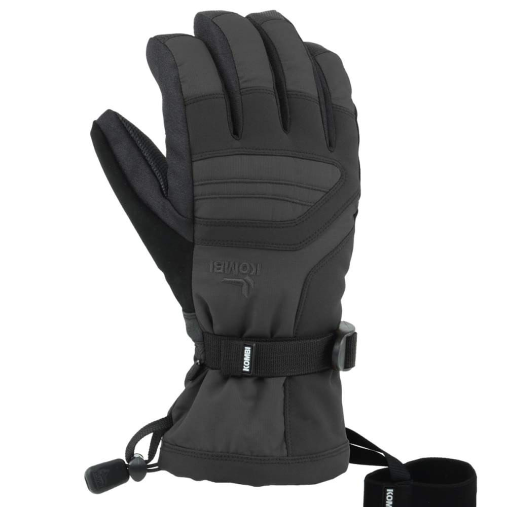 KOMBI Storm Cuff III Glove - BLACK/ROSE RED