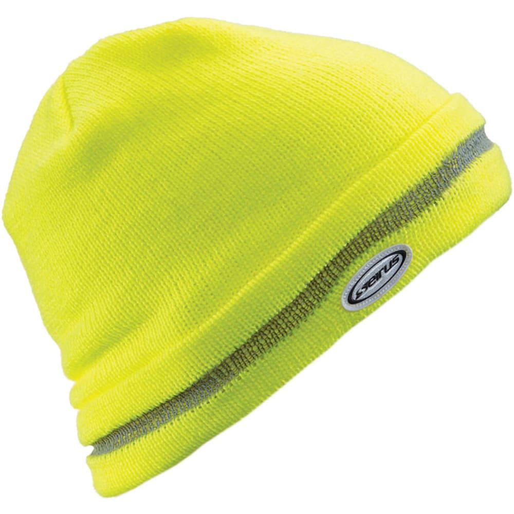 SEIRUS Men's Hi Visibility Hat - LIME