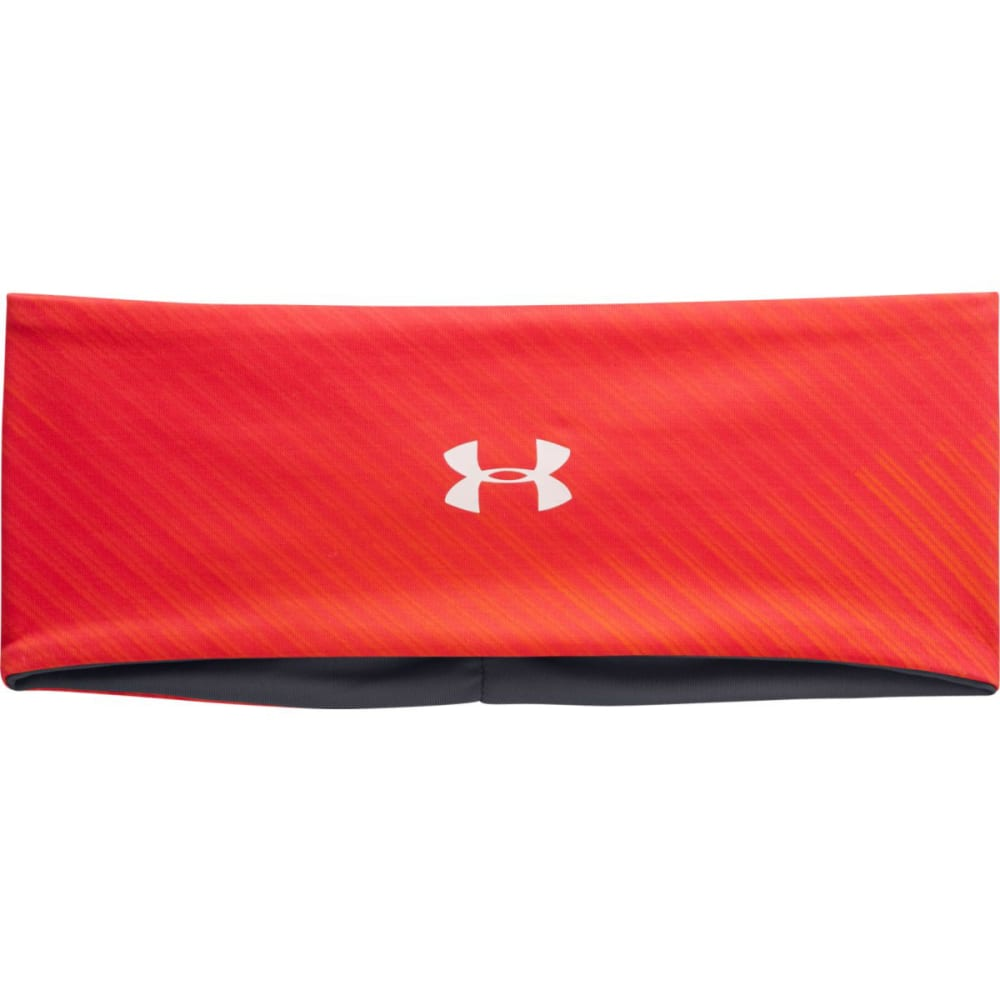 UNDER ARMOUR Women's UA Reverse To Print Headband - ORANGE