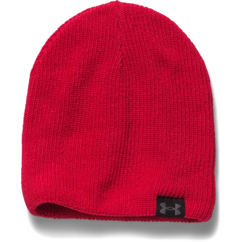 UNDER ARMOUR Men's UA Basic Beanie - RED