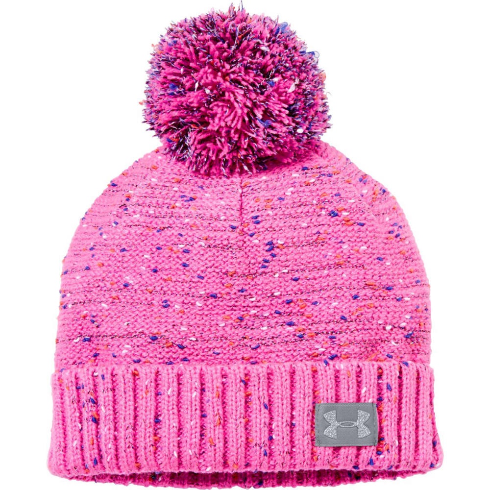 UNDER ARMOUR Girls' UA Speckle Beanie - CHAOS