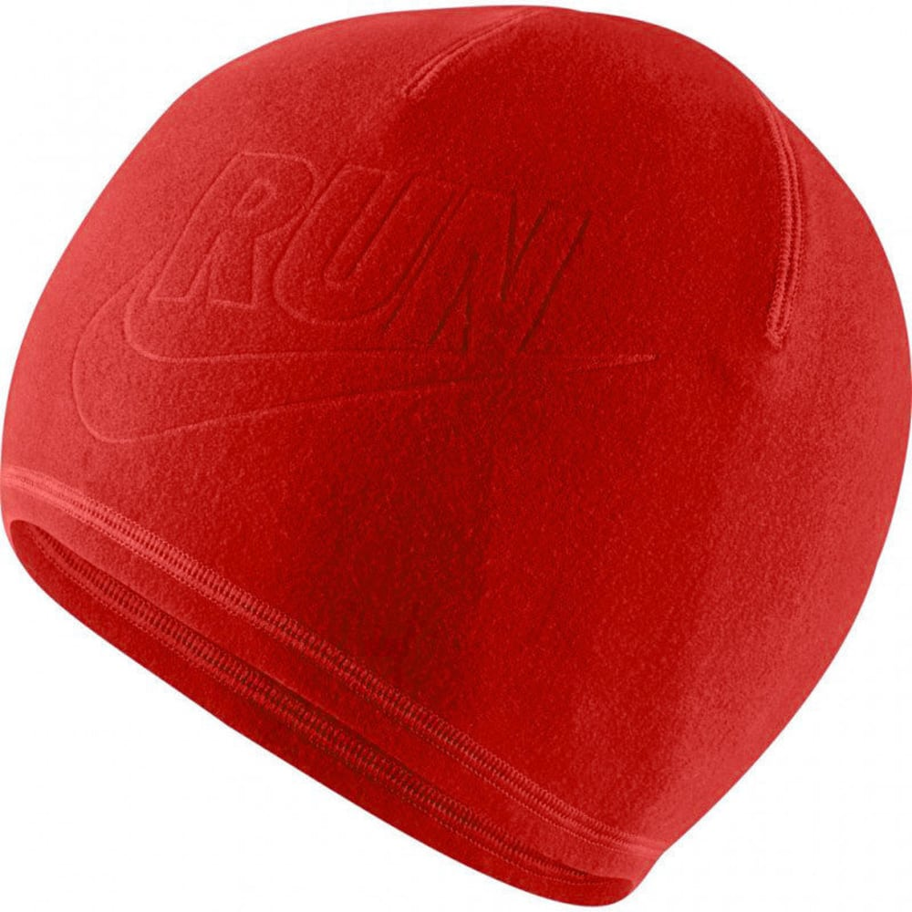 NIKE Mens' Run Cold Weather Beanie - BRIGHT CRIMSON