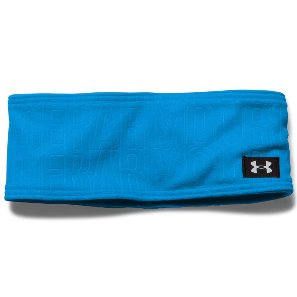 UNDER ARMOUR Women's Cozy Fleece Headband - JAZZ BLUE