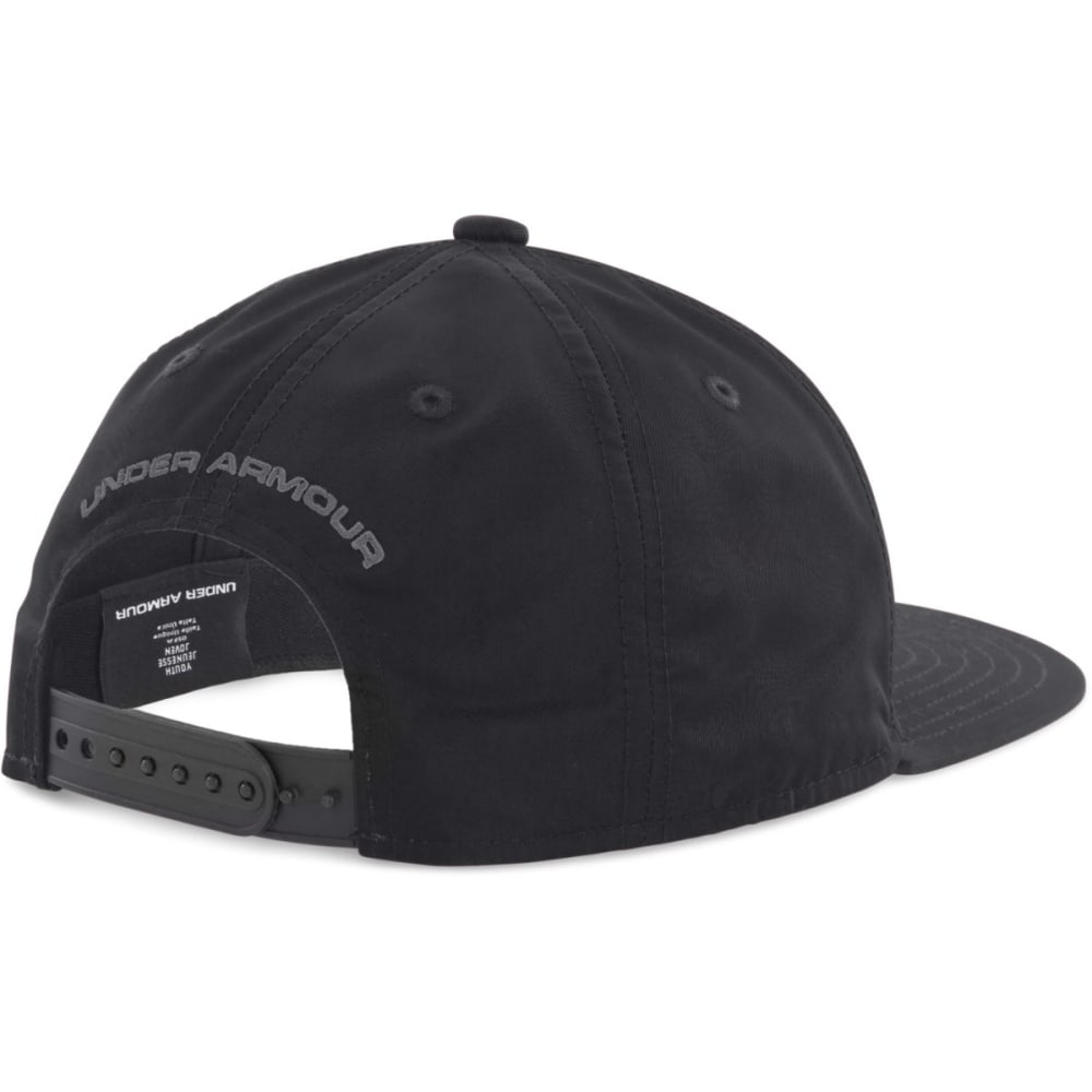 UNDER ARMOUR Boys' Huddle 2.0 Snapback Cap - BLACK/ANTHRICITE 001