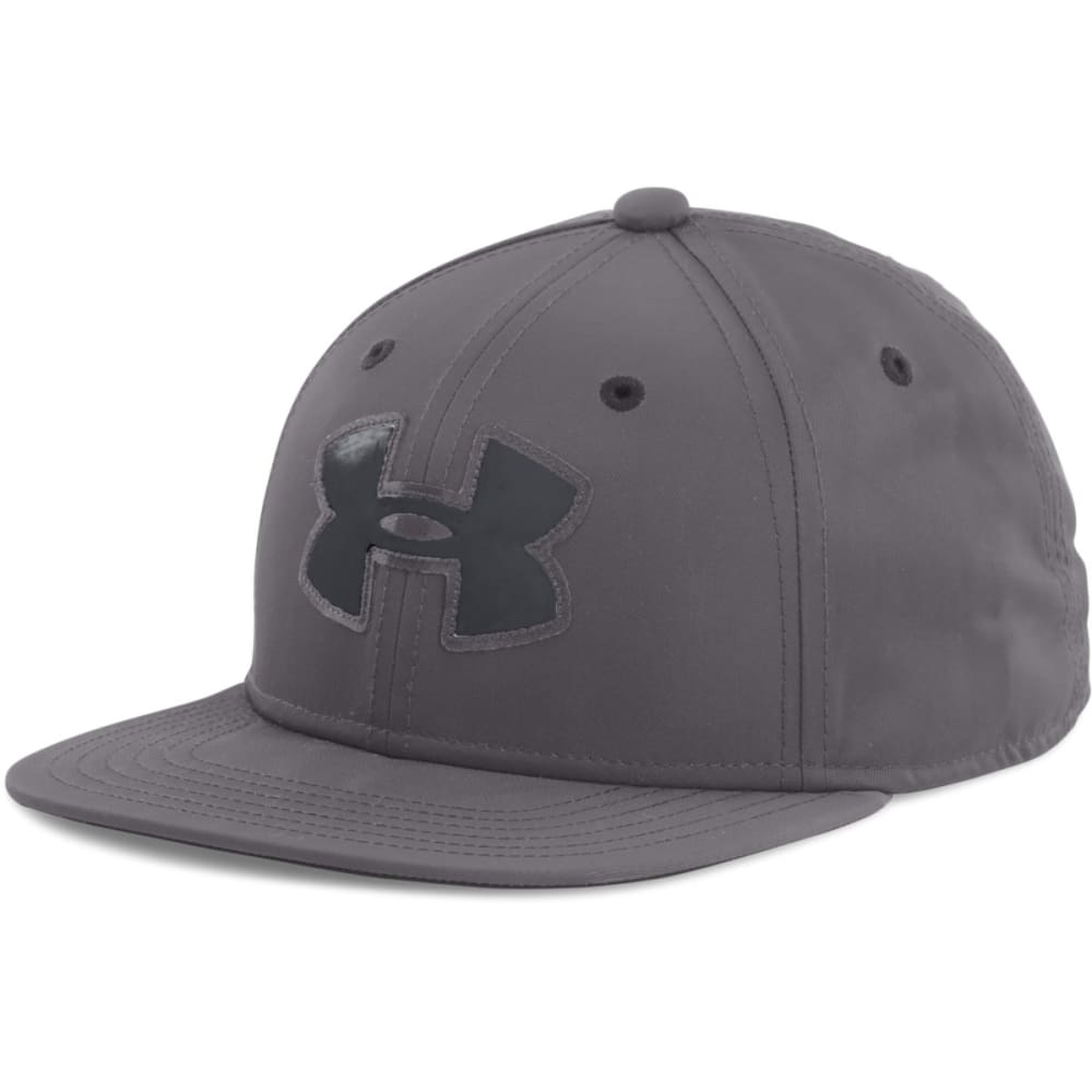 UNDER ARMOUR Boys' Huddle 2.0 Snapback Cap - GRAPHITE 040